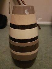 Tall ceramic glass vase Marks and Spencer