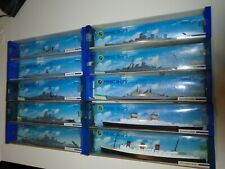 Rare Huge Lot 10 Minic Hornby Triang Diecast Boats Ships Naval Military Mib