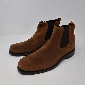 Wolverine 1000 Mile Brown 7 1/2 D 7.5 D Men Chelsea Suede Boots