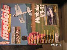 **a Modèle magazine n°624 Plan encarté Minibulle MB-05 / OS FS 30S / Sky Cat