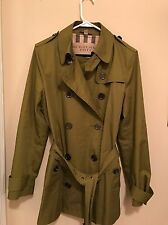 100% Authentic Burberry Coat. Size 12. Used Few Times Only