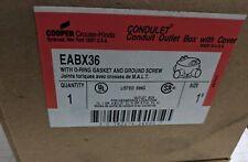 CROUSE HINDS EABX36 HAZARDOUS LOCATION BOX