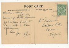 Stokesby Norfolk 26 Jun 1912 Rubber Handstamp Postmark Postcard 212c