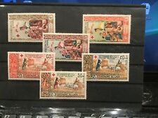 Laos 2 series stamps 1963 and1967.  Red Cross  MNH. VF