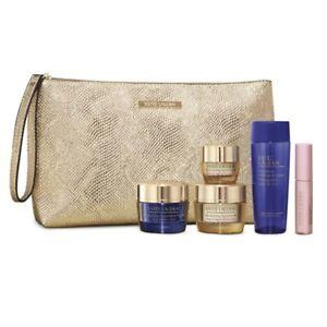 New, Estée Lauder Skin Care 5/Set & Cosmetics Bag