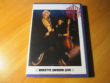 Roxette Look Sharp! Swedish Tour 1988 DVD (Sweden Live)