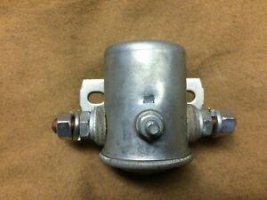 1955 Thunderbird NOS metal canister w/FoMoCo 6V starter relay,  21A 11450-A