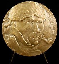 Médaille Vincent van Gogh Self Portrait & sur la route de Tarascon 68mm medal