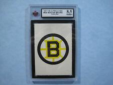 1977/78 O-PEE-CHEE NHL HOCKEY CARD #323 BOSTON BRUINS TEAM LOGO KSA 8.5 NMT+ OPC