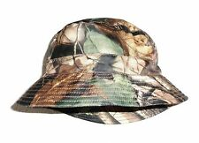 MENS WATER RESISTANT HUNTERS HAT gents oak tree camo windproof bucket bush cap