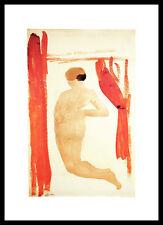 Agosto Rodin femme nue de dos Poster Stampa d'Arte e cornici SPEDIZIONE GRATUITA