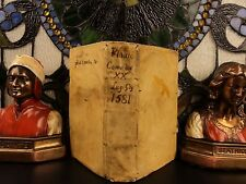 1581 1st ed Plautus Comedies Greek Roman Latin Theatre Shakespeare influence