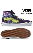 Vans SK8-HI Mysterioso Tie Dye Sneakers Purple Yellow Pink Blue Men's 11.5 NEW
