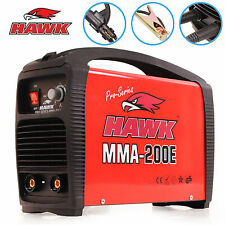 HAWK TOOLS 230V 200A STICK MMA ARC PORTABLE DC INVERTER WELDER WELDING MACHINE