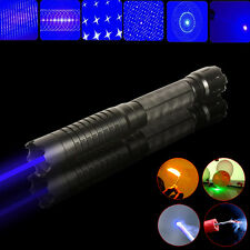 Thor M 445nm 450nm Adjustable High Power Blue Laser Pointer Torch BURN Match