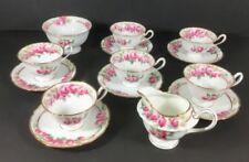 Tea Cup & Saucer Vintage Original Shelley Porcelain & China