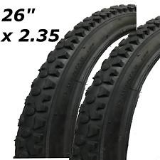 "2x Bicycle Tyres Bike Tires - Mountain Bike - 26"" x 2.35 - High Quality"