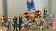 One Piece (in 2 jahre) Anime Manga Figuren 8+2 Stück Set H:5-18.5cm Super Cool