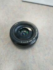 Panasonic Lumix G 20mm f/1.7 II Aspherical AF G Lens (Black)