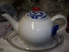 Grasslands Road American Bloom Ceramic Teapot, 6-Inch