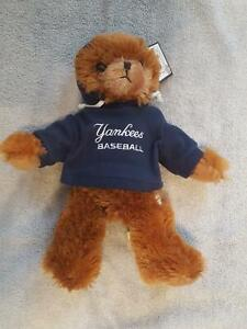 """NY Yankees Official MLB Team Stuffed Plush Bear 14"""" - New with Tags - 2012"""