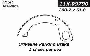 Rr Parking Brake Shoes Centric Parts 111.09790