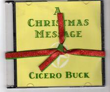 (HR39) Cicero Buck, A Christmas Message - 2012 DJ CD