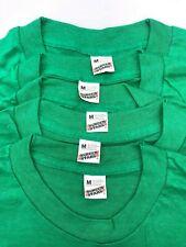New listing Screen Stars Lot of 4 Kelly Green Size Medium Blank Original Vintage T-Shirts