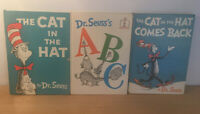 RARE UK First Edition 1st Dr Seuss The Cat In The Hat ABC Comes Back Joblot