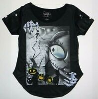 Disney Boutique Nightmare Before Christmas Sally Jack Cool Shirt New