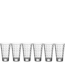 Leonardo Set/6 LD Becher optic,Saftbecher Wasserglas Longdrinkbecher Glas Gläser