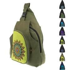 Sling Bag Hippie Goa Cross  Bodybag Schultertasche Mandala Rucksack Messenger L