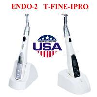Mini Inalámbrico Dental 16:1 Contra Angulo Endo Motor Tratamiento Endo-2/ T-FINO