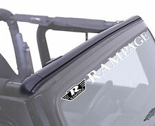 Bikini-Safari Top Header Channel. Jeep Wrangler TJ 1997-2006