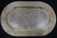 Sterling Silver 925 Capsule Tray Platter Salver Serving Plate Dining Vessel