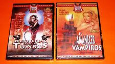 EL AMANECER DE LOS VAMPIROS - DESNUDA ENTRE LAS TUMBAS / La vampiresa desnuda