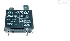 SANYOU relay SFK-112DM 12V 20A 250VAC Air conditioner Power Relay free shipping