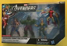 AVENGERS 4 inch FIGURES Loki HULK Hawkeye CLASSIC IRON MAN Marvel CIVIL WAR 2011