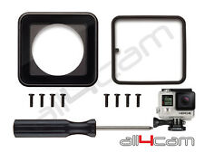 Lens replacement kit for GoPro HERO 3+ HERO 4 Waterproof Housing