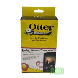 NEW Genuine Blackberry 8820 8830 OTTERBOX DEFENDER CASE w HOLSTER in Black RET