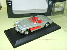 CHEVROLET CORVETTE 1957 Gris & Rouge NEW RAY