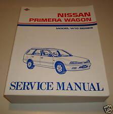 Werkstatthandbuch Nissan Primera Kombi W 10 ab 08/1990