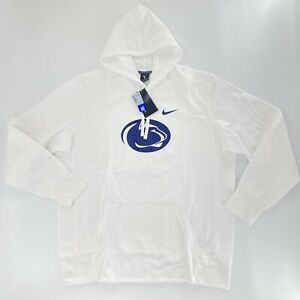 Penn State Nike Hoodie XL Nittany Lions NCAA Limited Edition White Pullover NWT