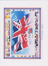 GB STAMP MNH 2012.PRES PK.POST & GO UNION JACK  A4 app DESIGN SHEET & GIFTS (72)