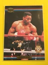 LENNOX LEWIS  1991 RINGLORDS Boxing Card #10  MINT w/Top Loader!