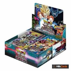 Dragon Ball Super TCG Unison Warrior Vicious Rejuvenation Sealed Booster Box B12