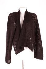 Ischiko chaqueta de punto Cardigan Lagenlook lana-mohair talla 38