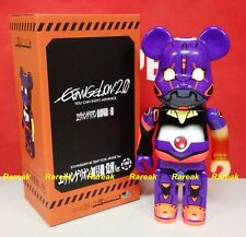 Medicom 2015 Be@rbrick Evangelion 3 EVA 400% Test Type Awake Bearbrick 1pc