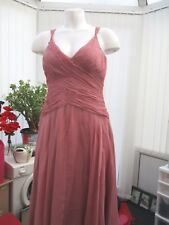 """""""PHASE EIGHT"""" Fabulous SZ 12 Rose Cocktail Dress with glass beads b.n.w.t."""