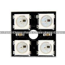 WS2812B 4*4 16-Bit Full Color 5050 RGB LED Lamp Panel Light For Arduino